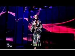 "Melissa Benoist Performs ""I Feel The Earth Move""  (LIVE Kelly & Ryan)"