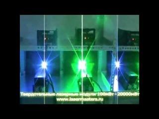 Мощные лазерные модули 100 - 20000 mW