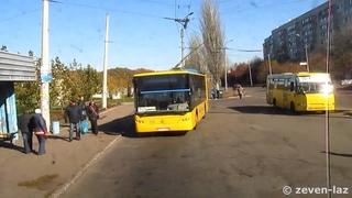 Черкасский троллейбус- ЛАЗ E183D1 №375
