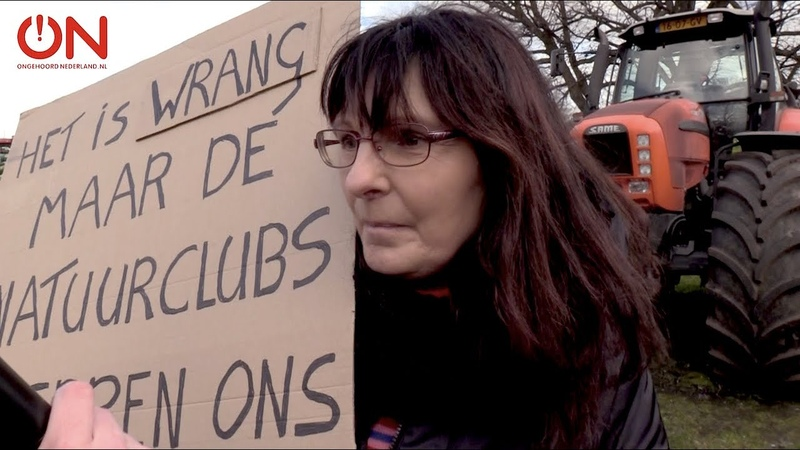 ON! peilt de sfeer bij het boerenprotest in Den Haag - YouTube