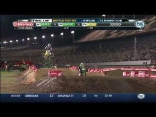 James Stewart Wall Jump Daytona Supercross 2014