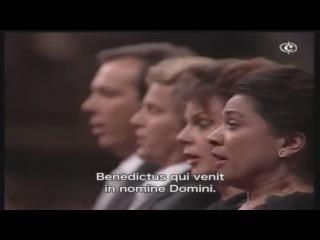 W.A. Mozart - IV.Sanctus, V.Benedictus (Coronation Mass in C-major K317)