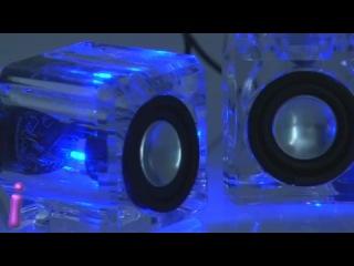 Аудио колонки iLogic Crystal Speakers