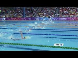 Women's 100m backstroke swimming preliminary heats singapore 2010