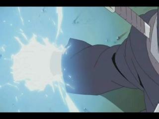 Sasuke vs Killer Bee Саске против Киллера Би