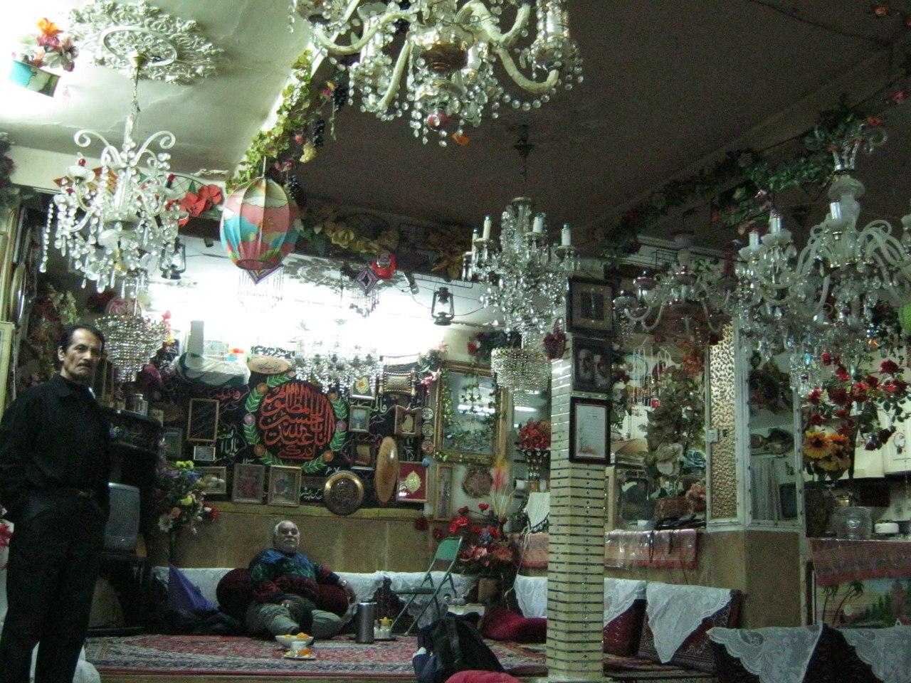 частное Хуссейние в Ширазе