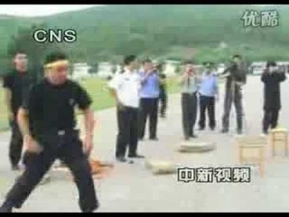 Chinese police for terrorist very unhappy