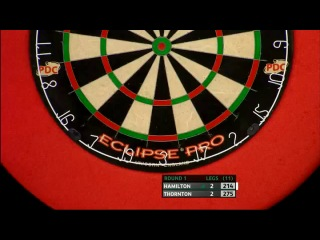 Andy Hamilton vs Robert Thornton (PDC Coral Masters 2013 / First Round)