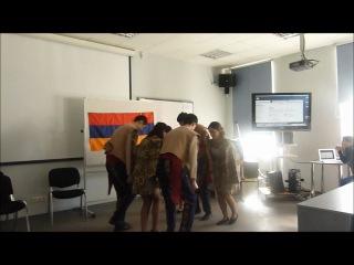 Ансамбль армянских традиционных танцев Зартонк - Керци