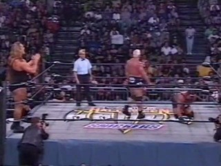 WCW Halloween Havoc Scott Steiner The Giant Vs Rick Steiner Buff Bagwell 25 Октября 1998