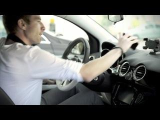 подставка под АйФон на колёсах Opel ADAM SIRI Black Link White Link