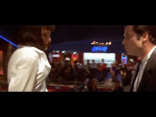 Mia wallace and vincent vega dance