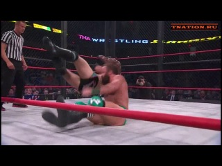 TNA Slammiversary XII: Eric Young vs Austin Aries vs Bobby Lashley
