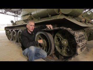 В командирской рубке.Загляни в реальный танк Т-34-85.