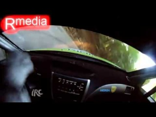 2012 IRC Prime Yalta Rally CRASH Simone Tempestini IN SS3