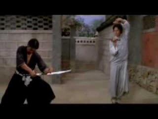 Самурай против китайского мастера меча