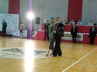 KRŠKO OPEN 2011. IDSF International LA. Ilya Chubanov - Anastasia Ribalko, Russia