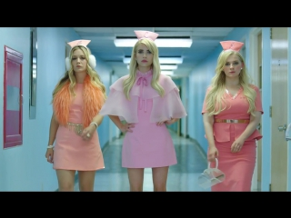 Королевы крика  Scream Queens - 2 сезон 1 серия Промо Were Back, Idiot Hookers (HD)