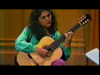 Lily Afshar performs El Mestre (The Master) by Llobet for Segovia