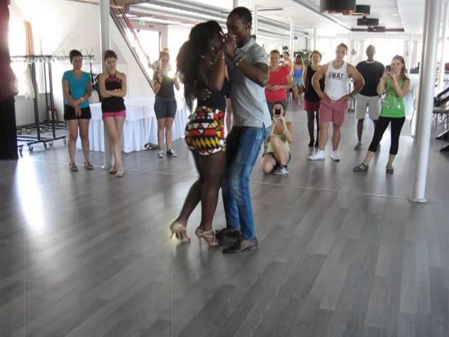 Budapest Kizomba Connection 2015 Beginners Semba with Dasmara Iolanda