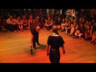 Impro - Cecilia Garcia y Alper Ergokmen - Vaudeville - Brussels Tango Festival BTF 2012