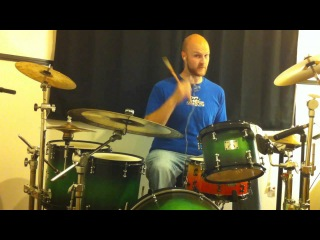Getting better at gospel / linear fills: Coordination 1 drum lesson