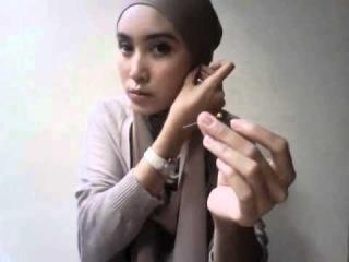 Hijab Tutorial by Siti Juwariyah (part two)