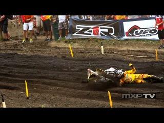 James Stewart Crash - Thunder Valley National