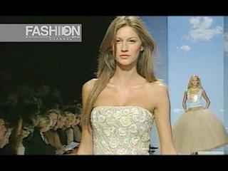 OSCAR DE LA RENTA Spring Summer 2000 New York - Fashion Channel