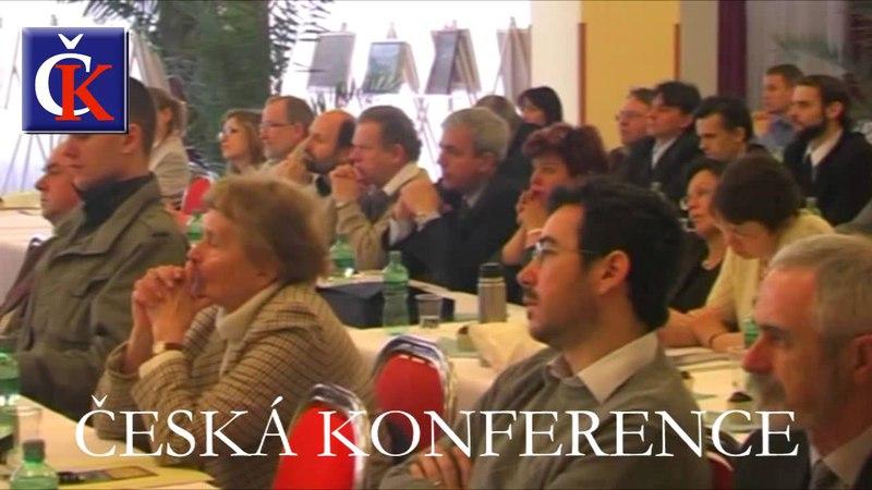 VII roč ČESKÉ KONFERENCE Zdeněk Mahler Dr h c Osud nebo naděje