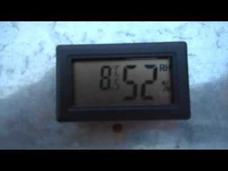 Видеообзор датчика температуры и относительной влажности воздуха , пример использования