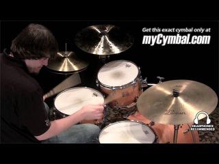 """Used Zildjian 20"""" A Deep Ride Cymbal (UA20DR-1022812F)"""