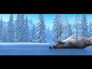 Холодное Сердце первый трейлер изданный компанией Disney по этому замечательному мультфильму (Прикол Мультик Отрыв Frozen 20