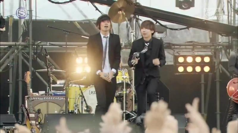 Alexandros Song 2 Blur cover feat Kawatani Enon indigo la End Sweet Love Shower 2014