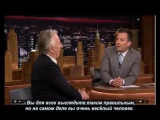 Алан Рикман у Джимми Фэллона