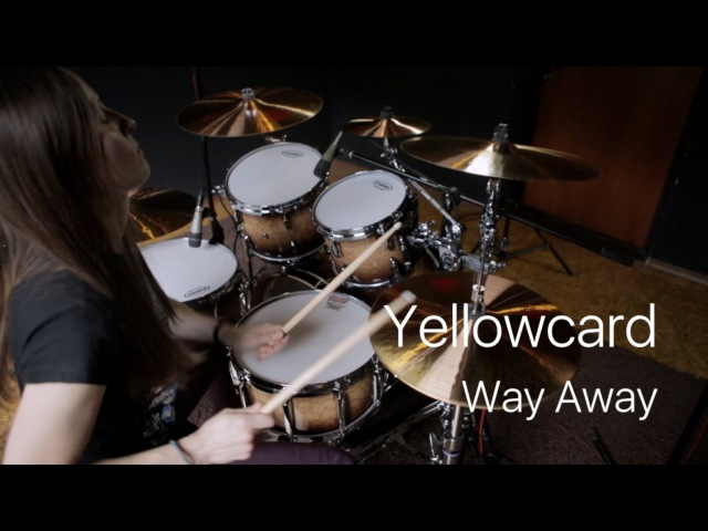 Yellowcard Way Away drum cover by Vicky Fates