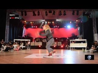 FINAL DANCEHALL 2015 DEEZY VS MAELYS DA HIP HOP SHOW 2015