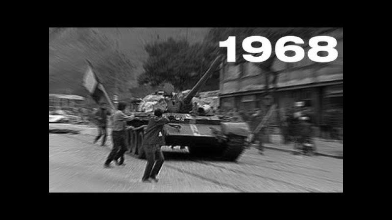 Okupace Československa 21 srpna 1968 první hlášení