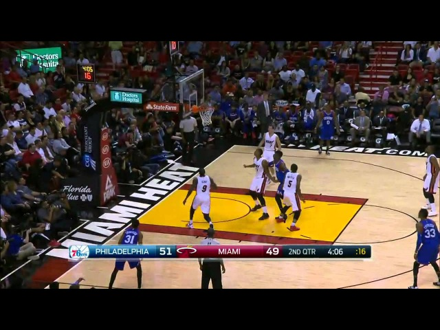 [HD] Philadelphia 76ers vs Miami Heat | Full Highlights | February 23, 2015 | NBA Season 2014/15
