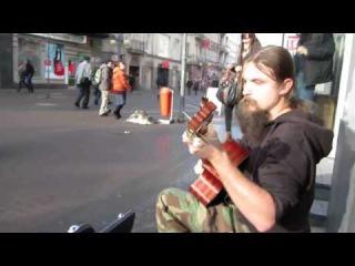 Невероятно талантливый польский уличный музыкант