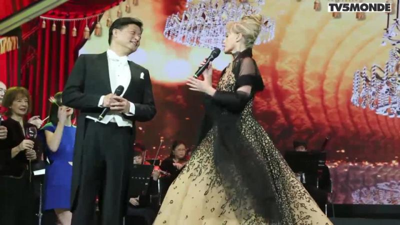 Вечер дружбы Китай Франция Интервью с Ариэль Домбаль TV5MONDE
