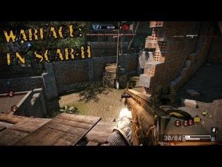 Игра с элитным FN Scar H  на Убежище (Warface)
