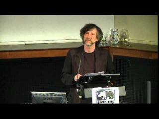 Neil Gaiman at the Douglas Adams Memorial Lecture 2015