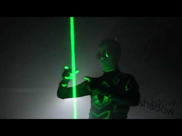 Проект Shadow Демо Laser Man Show