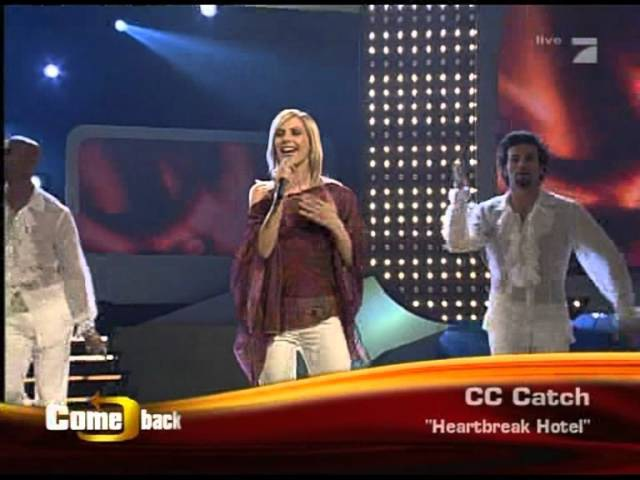 C.C.Catch - Heartbreak Hotel Live Comeback Show