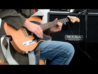 Custom T-style (built by Andrew Posokhin), MESA Triaxis, Wilde Keystones.