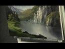 Paint with Kevin Sunlit Cliffs