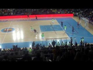 F.C. Barcelona 3 - Inter Movistar 5 (vuelta semifinales Copa del Rey)