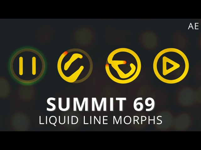 Summit 69 Liquid Line Morphs After Effects