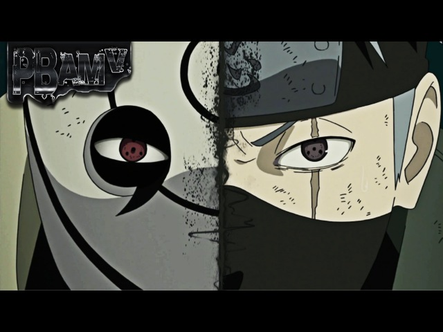 Kakashi vs Obito AMV Black and Blue